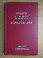 Gustave Siegel - L'energie electrique (1907)