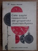 Gustaw Morcinek - Cele sapte ceasornice ale groparului Joachim Rybka