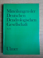 Anticariat: H. Bartels - Mitteilungen der Deutschen Dendrologischen Gesellschaft