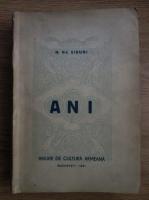 H. DJ. Siruni - Ani. Anuarul culturii armene (1941)