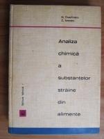 H. Dumitrescu - Analiza chimica a substantelor straine din alimente