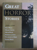H. G. Wells - Great horror stories