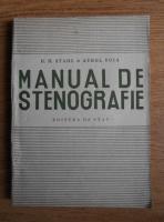 Anticariat: H. H. Stahl - Manual de stenografie (1949)
