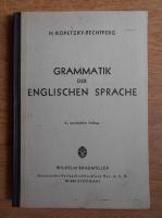 Anticariat: H. Kopetzky Rechtperg - Grammatik der englischen Sprache