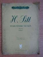 Anticariat:  H. Litt. Studii pentru vioara