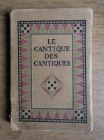 H Piazza - Le cantique des cantiques (1933)