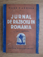 Anticariat: Hans Carossa - Jurnal de razboiu in Romania (1935)