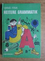Hans Fink - Heitere grammatik
