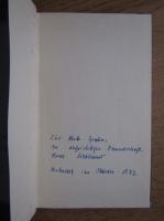 Hans Liebhardt - Alles was notig war (cu autograful autorului)