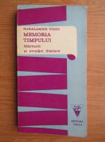 Haralambie Tugui - Memoria timpului
