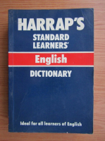 Anticariat: Harrap's standard learners english dictionary