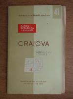 Harta geologica. Craiova (editie bilingva, contine harta)