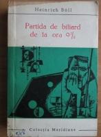 Anticariat: Heinrich Boll - Partida de biliard de la ora 9 1/2