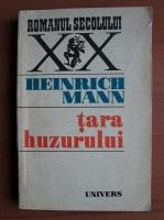 Anticariat: Heinrich Mann - Tara huzurului