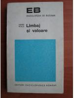 Anticariat: Henri Wald - Limbaj si valoare