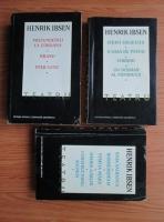Henrik Ibsen - Teatru (3 volume)