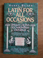 Henry Beard - Latin for all occasions