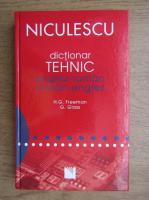 Anticariat: Henry G. Freeman - Dictionar tehnic englez-roman, roman-englez
