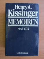 Anticariat: Henry Kissinger - Memoiren, 1968-1973