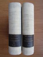 Henry Lolliot - Dictionar englez-roman (2 volume, 1900)