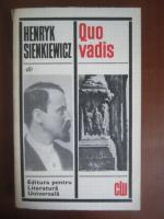 Anticariat: Henryk Sienkiewicz - Quo vadis