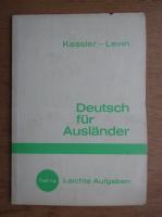 Anticariat: Hermann Kessler - Deutsch fur Auslander