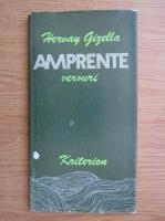 Anticariat: Hervay Gizella - Amprente