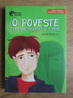 Herve Mestron - O poveste despre un baiat si o fata (editie bilingva franceza-romana)