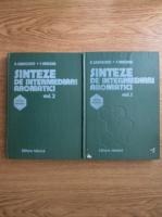 Hipolit Sanielevici, Florian Urseanu - Sinteze de intermediari aromatici. Sinteze organice (2 volume)