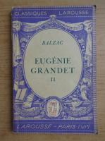 Anticariat: Honore de Balzac - Eugenie Grandet (volumul 2, 1939)
