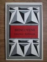 Anticariat: Horia Barbu Oprisan - Brincovenii. Teatru popular