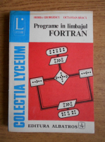 Anticariat: Horia Georgescu - Programe in limbajul fortran