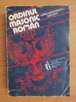 Horia Nestorescu Balcesti - Ordinul masonic roman