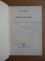 Horia Zilieru - Oglinda de ceata (cu autograf si dedicatie pentru Balagh Jozsef)