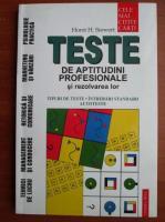Anticariat: Horst H. Siewert - Teste de aptitudini profesionale si rezolvarea lor