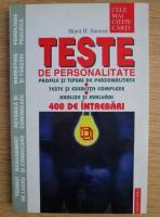 Horst H. Siewert - Teste de personalitate