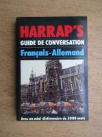 Horst Kopleck - Harrap's guide de conversation francais-allemand