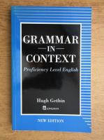 Hugh Gethin - Grammar in context. Proficiency level english