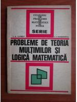 I. A. Lavrov - Probleme de teoria multimilor si logica matematica