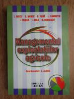 I. Alecu, E. Merce, D. Pana - Managementul exploatatiilor agricole