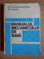 I. Constantinescu - Manualul mecanicului de nava