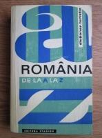 Anticariat: I. Constantinescu - Romania de la A la Z