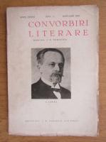 I. E. Toroutiu - Convorbiri literare, anul LXXIV, nr. 1, ianuarie 1943