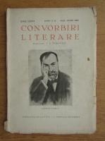 Anticariat: I. E. Toroutiu - Convorbiri literare, anul LXXVI, nr. 5-6, mai-iunie 1943
