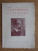 I. E. Toroutiu - Convorbiri literare, anul LXXVI, nr. 7-8, iulie-august 1943