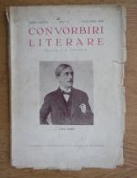 I. E. Toroutiu - Convorbiri literare, anul LXXVII, nr. 1, ianuarie 1944