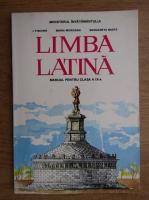 Anticariat: I. Fischer, Maria Morogan - Limba latina. Manual pentru calsa a IX-a (1997)