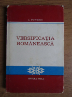 Anticariat: I. Funeriu - Versificatia romaneasca