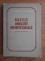 I. I. Privalov - Bazele analizei infinitezimale