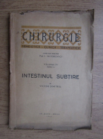 Anticariat: I. Iacobovici - Chirurgie. Semeiotica, clinica, terapeutica (volumul 4, partea a 7-a, 1947)